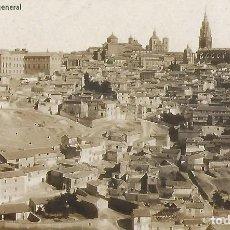 Postales: POSTAL FOTOGRÁFICA TOLEDO. VISTA GENERAL.THOMAS, BARCELONA. 14 X 9 CM.. Lote 244180700
