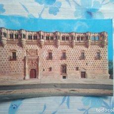 Postales: POSTAL GUADALAJARA, PALACIO DEL INFANTADO, FACHADA. Lote 244663310
