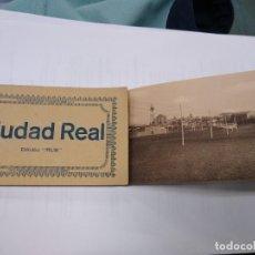 Postales: CIUDAD REAL. EDICIÓN MUR. BLOC CON 20 POSTALES. COMPLETA. SIN CIRCULAR.. Lote 244980070