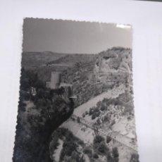 Postales: SACEDON GUADALAJARA. BAR CASTILLO. FOTO MORENO. SIN CIRCULAR.. Lote 245010495