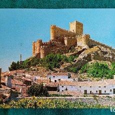 Postales: POSTAL DE ALMANSA - VISTA PARCIAL Y CASTILLO - ALBACETE - RW. Lote 245614835
