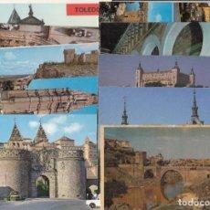 Postales: (34) LOTE DE 62 POSTALES DE TOLEDO. Lote 245711475