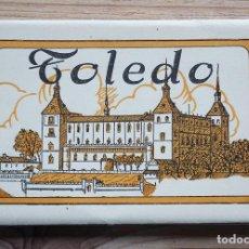 Postales: TOLEDO BLOC HELIOTIPIA ARTÍSTICA ESPAÑOLA SEGUNDA SERIE 12 POSTALES. Lote 245733645