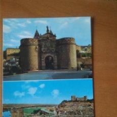 Postales: TOLEDO - PUERTA DE BISAGRA Y PUENTE ALCÁNTARA. Lote 245902555