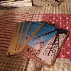 Postales: CARTELES TURÍSTICOS DE ESPAÑA. LA MANCHA,15 UNIDADES. Lote 246022390