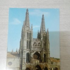 Postales: POSTAL N 51 BURGOS CATEDRAL FACHADA PRINCIPAL. Lote 246161420