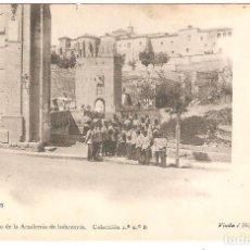 Postales: TOLEDO. GABINETE FOTOGRÁFICO DE LA ACADEMIA DE INFANTERÍA. EN PRÁCTICAS.. Lote 246747795