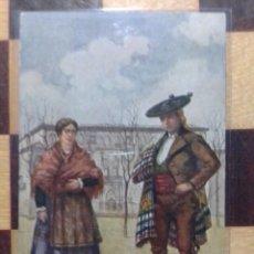 Postales: ANTIGUA POSTAL AÑOS 1920 GUADALAJARA PAREJA DE ALDEANOS. Lote 247713935