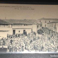 Postales: BARGAS , TOLEDO , LA ACADEMIA EN LA PLAZA , 1912. Lote 249132905