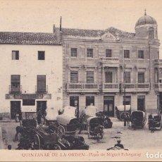 Postales: QUINTANAR DE LA ORDEN (TOLEDO) - PLAZA DE MIGUEL ECHEGARAY. Lote 252086475