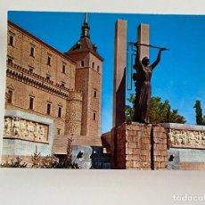 Postales: TARJETA POSTAL. TOLEDO. 1483.- EL ALCÁZAR. MONUMENTO AL ANGEL DE LA VICTORIA. L ARRIBAS. Lote 253914410
