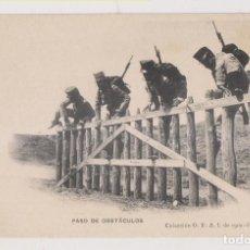 Postales: POSTAL. PASO DE OBSTÁCULOS. COLECCIÓN G. F. A. I. DE 1907. PELÁEZ, TOLEDO. Lote 253925340