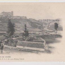 Postales: POSTAL. SALIDA DE OCAÑA. COLECCIÓN G. F. A. I. DE 1907. PELÁEZ, TOLEDO. Lote 253925675