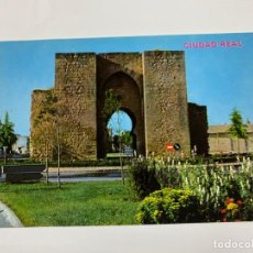 Postais: TARJETA POSTAL. CIUDAD REAL. 606.-PUERTA DE TOLEDO. ED. PARIS-J.M. Lote 254792125