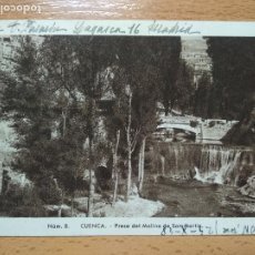 Postales: CUENCA PRESA DEL MOLINO DE SAN MARTIN. ED. FONTANA. FOTO MEDIAMARCA.. Lote 255989145