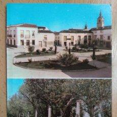 Cartoline: QUINTANAR DE LA ORDEN - PASEO DE COLÓN - PLAZA DEL GENERALÍSIMO - TOLEDO. Lote 259313285