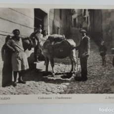 Postales: ANTIGUA Y PRECIOSA POSTAL DE TOLEDO - CARBONERO - NO CIRCULADA - L. ROISIN - EN PERFECTO ESTADO -. Lote 261203220