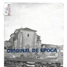 Postales: (PS-65228)POSTAL DE BELMONTE(CUENCA)-IGLESIA Y PLAZA DE TOROS. Lote 262694205
