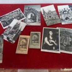 Postales: BURDEOS LOTE DE 15 POSTALES Y 20 FOTOS MUY ANTIGUAS. Lote 262729190