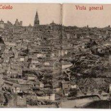 Postales: POSTAL DE TOLEDO, VISTA GENERAL C. Y A. / 401, SIN CIRCULAR.. Lote 263656880