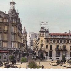 Cartes Postales: ALBACETE PLAZA DEL CAUDILLO. ED. GARRABELLA Nº 6. BYN COLOREADA. CIRCULADA. Lote 264048255