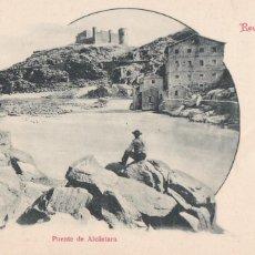 Cartes Postales: RECUERDO DE TOLEDO PUENTE ALCÁNTARA. ED. VDA. DE MUÑOZ. SIGLO XIX. SIN DIVIDIR. VER REVERSO. Lote 265538089