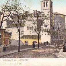Cartes Postales: TOLEDO SANTIAGO DEL ARRABAL. ED. PURGER & CO. MUNCHEN Nº 2199. REVERSO SIN DIVIDIR. SIN CIRCULAR. Lote 265542409