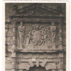 Cartes Postales: ALMANSA (ALBACETE) PORTADA DE LA CASA VIEJA O DEL MARQUÉS DE LA CALZADA.. Lote 265713069