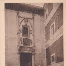 Cartoline: TOLEDO POSADA DE LA HERMANDAD. ED. CANOVAS, HAUSER Y MENET. REVERSO SIN DIVIDIR. SIN CIRCULAR. Lote 267107649