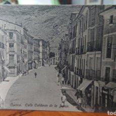 Cartoline: CUENCA POSTAL CALLE CALDERÓN DE LA BARCA, ORIGINAL, RARA,. Lote 267137464
