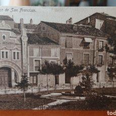 Cartoline: POSTAL CUENCA, PLAZA SAN FRANCISCO, SIN CIRCULAR, ORIGINAL Y BUEN ESTADO, VED FOTO. Lote 267335184