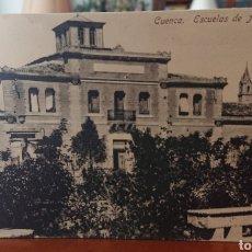 Cartoline: POSTAL CUENCA, ESCUELAS DE AGUIRRE, SIN CIRCULAR, ORIGINAL Y BUEN ESTADO, VED FOTO. Lote 267365419