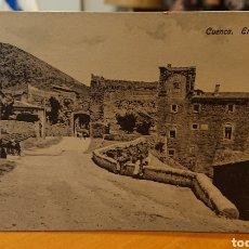 Cartoline: POSTAL CUENCA, EL CASTILLO, SIN CIRCULAR, ORIGINAL Y BUEN ESTADO, VED FOTO. Lote 267440504