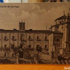 Postales: POSTAL CUENCA HOSPITAL DE SANTIAGO, SIN CIRCULAR, ORIGINAL Y BUEN ESTADO, VED FOTO. Lote 267440699