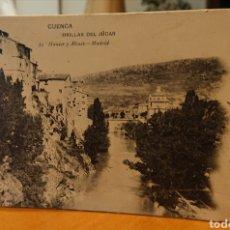 Cartoline: POSTAL CUENCA, CIRCULADA CON SELLOS, ORILLAS DEL JÚCAR, BUEN ESTADO Y ORIGINAL, VED FOTOS. Lote 267498834