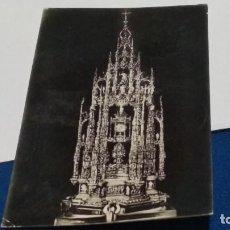 Postales: POSTAL Nº 8 HELIOTOPIA ARTÍSTICA ESPAÑOLA ( TOLEDO - CATEDRAL LA CUSTODIA ). Lote 267686934