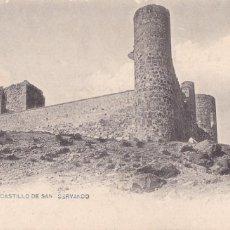 Postales: TOLEDO CASTILLO DE SAN SERVANDO. ED. FOTOTIPIA LACOSTE Nº 78. REVERSO SIN DIVIDIR. Lote 267826444