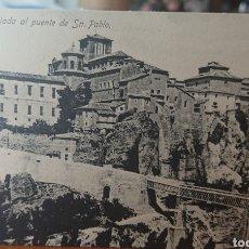 Postales: POSTAL CUENCA, SIN CIRCULAR, ORIGINAL Y BUEN ESTADO, VED FOTO. Lote 268955449