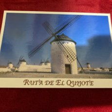 Postales: POSTAL MOLINOS CAMPO DE CRIPTANA. RUTA DE EL QUIJOTE. Lote 268981889