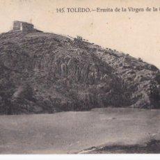 Postales: TOLEDO ERMITA VIRGEN DE LA CABEZA. ED. GRAFOS Nº 145. CIRCULADA. Lote 269113818