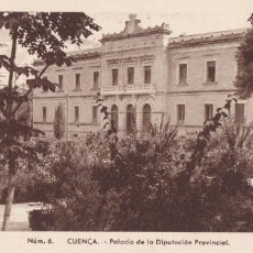 Postales: CUENCA PALACIO DIPUTACION PROVINCIAL. ED. FONTANA, FOTO MEDIAMARCA Nº 6. SIN CIRCULAR. Lote 269115358