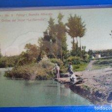 Postales: (PS-65629)POSTAL DE ORILLAS DEL JUCAR LA MARMOLA-FOTOGRAFIA BUENDIA ALBACETE. Lote 269209058
