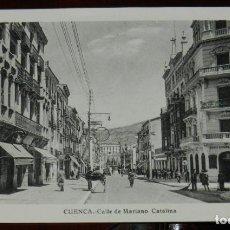 Postales: POSTAL DE CUENCA, CALLE DE MARIANO CATALINA, ED. L. ROISIN, NO CIRCULADA.. Lote 269341548