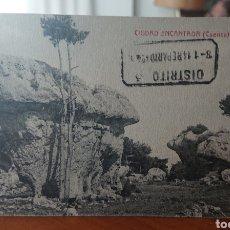 Postales: POSTAL CUENCA, SIN CIRCULAR, ORIGINAL Y, SELLO CARTERÍA RARO, VED FOTO. Lote 269420233
