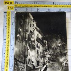 Postales: POSTAL DE CUENCA. AÑO 1959. BARRIO ANTIGUO ILUMINADO. 53 HELIOTIPIA. 426. Lote 269845318
