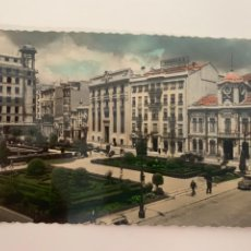 Postales: ALBACETE - PLAZA DEL CAUDILLO - Nº 4º ED. GARCÍA GARRABELLA - COLOREADA. Lote 271128093