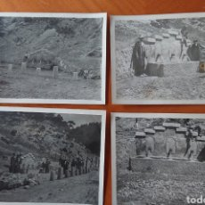 Postales: ÁVILA, CUENCA, LOTE CUATRO FOTOS ORIGINALES, A EXPERTIZAR, VED FOTOS. Lote 271508863