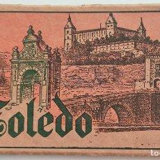 Postales: BLOCK CON 15 POSTALES DE TOLEDO - EDITOR M. ARRIBAS - ZARAGOZA - FECHADO MANUSCRITO SEPTIEMBRE 1939. Lote 272615493