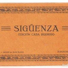 Postais: BLOC DE 25 POSTALES SIGÜENZA . EDICIÓN CASA RODRIGO. FOT. ROISIN., VELL I BELL. Lote 273003748