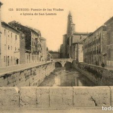 Postales: POSTAL ANTIGUA-BURGOS-PUENTE DE LAS VIUDAS-DIVIDIDA Y SIN CIRCULAR. Lote 273410158